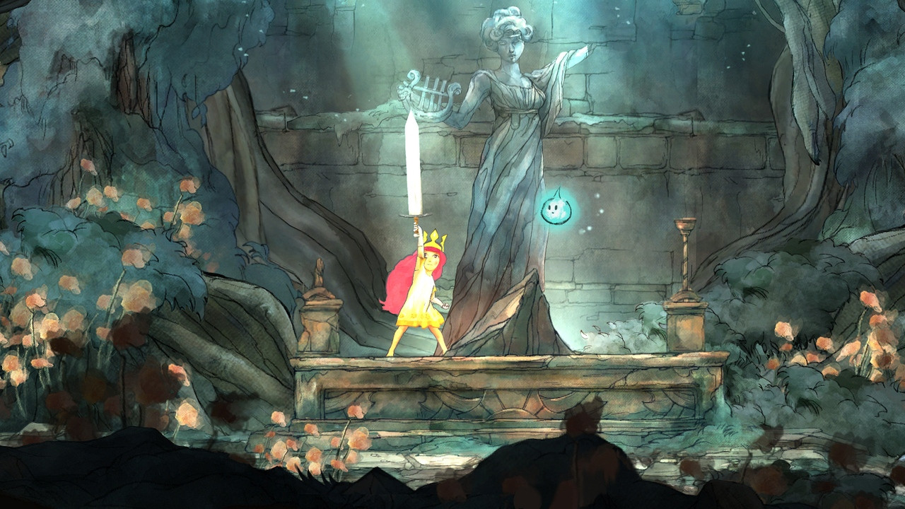 Child of Light gameplay